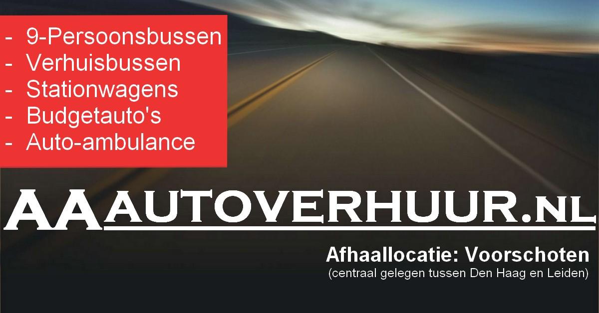 2020-05 Banner AA Autoverhuur
